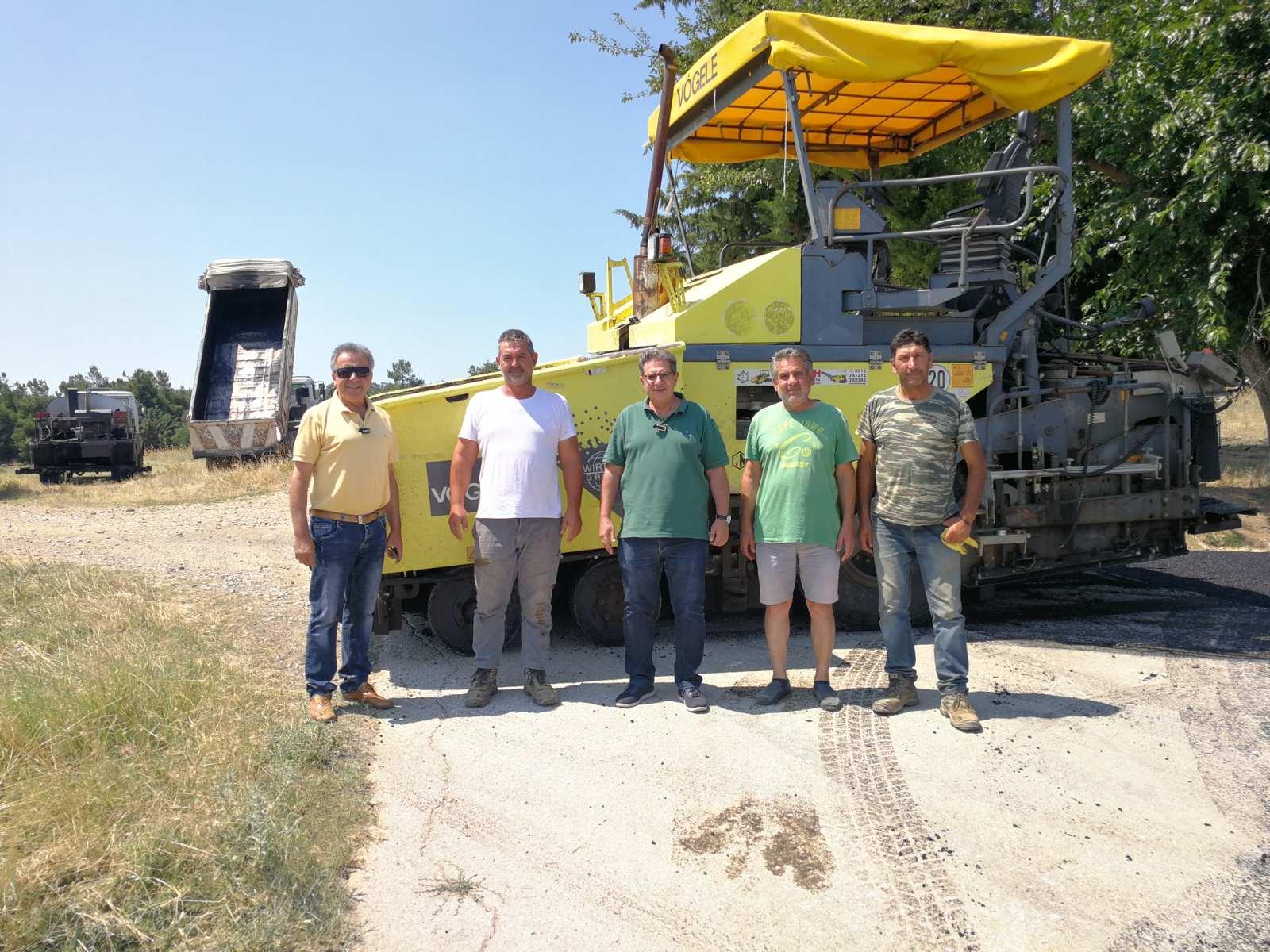 «Λίφτινγκ» στο εσωτερικό οδικό δίκτυο της επαρχίας Φαρσάλων από το Δήμο