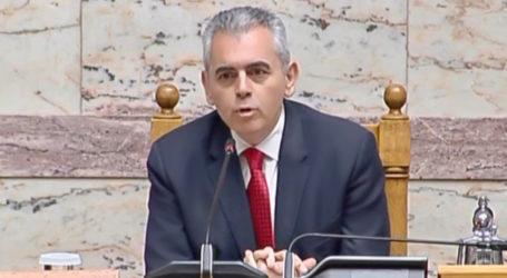 Χαρακόπουλος: Συνεργαζόμενοι μπορούμε να καλύψουμε το χαμένο έδαφος στο ΓΝΛ
