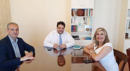 Λιβάνιος σε Γάτσα – Λιακούλη: «Με σχέδιο να αναδείξουμε τον Όλυμπο»
