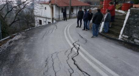 1.8 εκ. ευρώ για αποκαταστάσεις στον δρόμο Ζαγορά-Χορευτό
