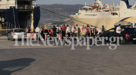 Επιστροφής συνέχεια για τους αδειούχους – Αυξημένη κίνηση στο λιμάνι του Βόλου