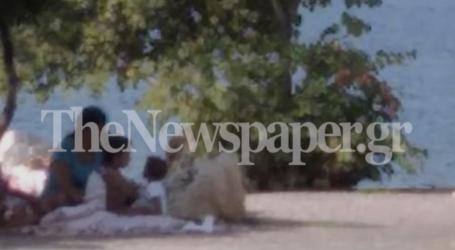 Βόλος: Ρομά έκαναν κατασκήνωση στο πάρκο του Αναύρου – Δείτε εικόνες
