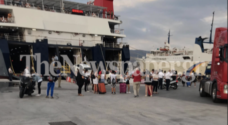 Βόλος: Μεγάλη έξοδος των αδειούχων του Αυγούστου – Αυξημένη η κίνηση στο λιμάνι [εικόνες]