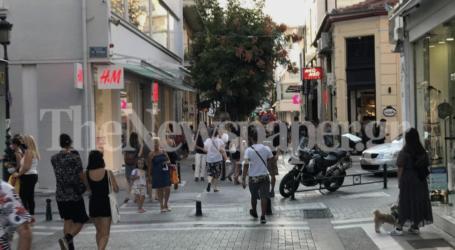 Βόλος: Βόλτα στην αγορά λόγω εκπτώσεων – Δείτε εικόνες