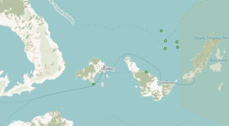 Βόρειες Σποράδες: Επτά σεισμοί σε 24 ώρες [χάρτης]