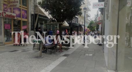Βόλος: Επιστρέφει στην κανονικότητα η εμπορική αγορά – Δείτε εικόνες