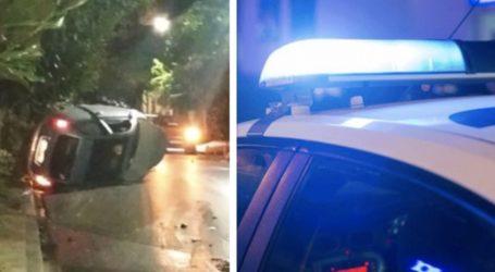 Τροχαίο ατύχημα στον Βόλο – Ντελαπάρησε αυτοκίνητο
