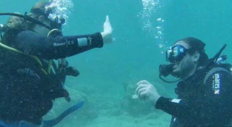 Υποβρύχια πρόταση γάμου στην Αλόννησο – Δείτε βίντεο