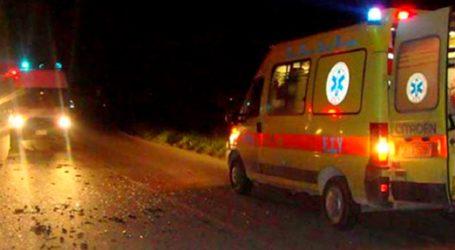Βόλος: Τροχαίο ατύχημα – Μία τραυματίας