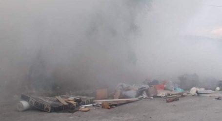 Βόλος: Φωτιά στο Αλιβέρι Ν. Ιωνίας – Δείτε εικόνες