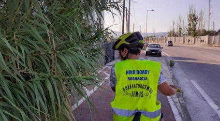 Απροσπέλαστος ο ποδηλατόδρομος από Βόλο στα Πευκάκια – Τι καταγγέλει το τμήμα ποδηλασίας της Νίκης [εικόνες]