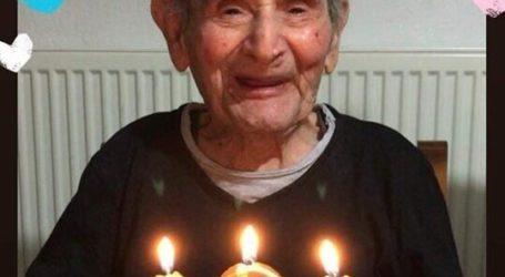 Έκλεισε τα 104 του ο γηραιότερος παππούς της Τσαριτσάνης (φωτο)