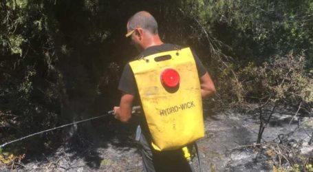 Φωτιά στον Τσουγκριά: Εμπρησμό καταγγέλει ο δήμαρχος Σκιάθου