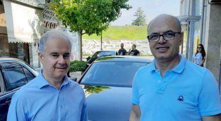 Συνάντηση Μανώλη με τον αν. υπουργό Άμυνας της Αλβανίας