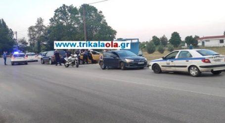 Τρίκαλα: Επεισοδιακή καταδίωξη αυτοκινήτου – Τραυματίστηκε αστυνομικός
