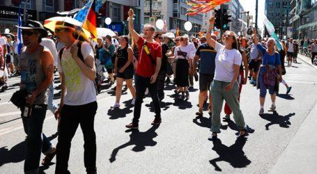 Δεκάδες χιλιάδες αρνητές της πανδημίας διαδηλώνουν σήμερα στο Βερολίνο