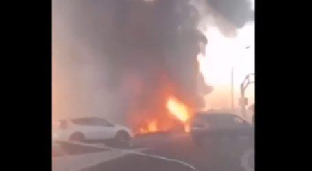 Πανικός από έκρηξη σε βενζινάδικο στη Ρωσία