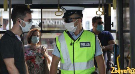 Ελέγχους στα Μέσα Μεταφοράς από την αστυνομία για τη χρήση μάσκας