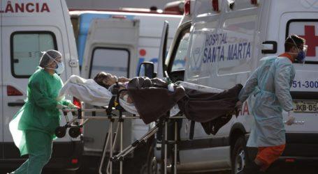 561 νέοι θάνατοι και 16.641 νέα κρούσματα στη Βραζιλία