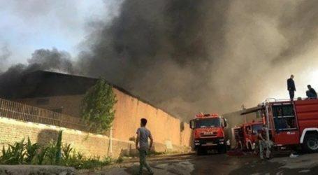 Πυρκαγιά σε βιομηχανική ζώνη κοντά στην Τεχεράνη