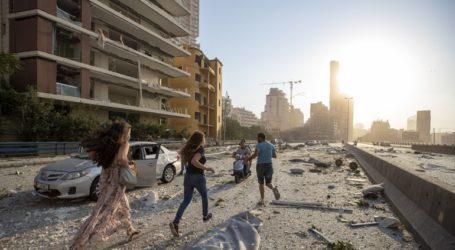Εξερράγησαν 2.750 τόνοι νιτρικού αμμωνίου στη Βηρυτό