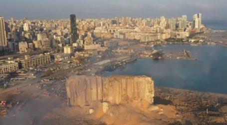 Η ανείπωτη καταστροφή στη Βηρυτό από ψηλά
