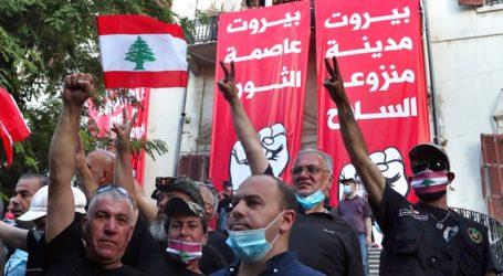 Βηρυτός: Έφοδος διαδηλωτών στο ΥΠΕΞ