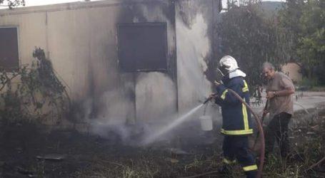 Πυρκαγιά κατέκαψε φυτώριο στην Ξάνθη