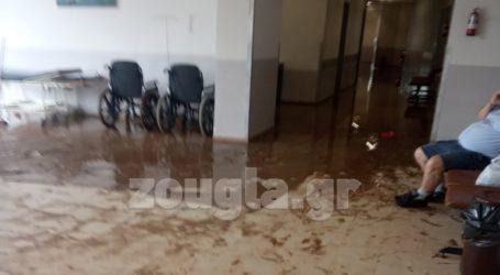 Σοβαρές ζημιές και στο Κέντρο Υγείας των Ψαχνών