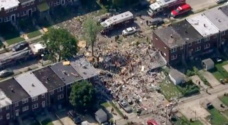 Έκρηξη στη Βαλτιμόρη με έναν νεκρό και αρκετούς τρατματίες