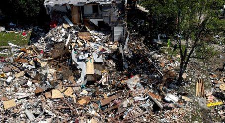 Τρία σπίτια ισοπεδώθηκαν από την έκρηξη στη Βαλτιμόρη