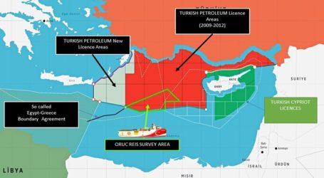 Νέος τουρκικός χάρτης με γεωτρήσεις δίπλα σε Κάρπαθο και Καστελόριζο
