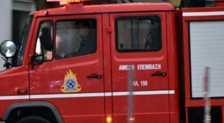 Πυρκαγιά στο Μετόχι, στην Επανομή