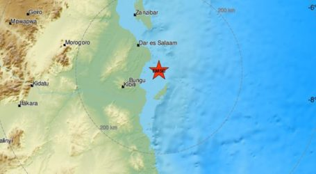 Σεισμός 5,9 Ρίχτερ στην Τανζανία