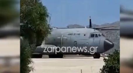 Στα Χανιά τα γαλλικά πολεμικά αεροσκάφη που έστειλε ο Μακρόν