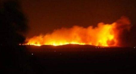 Μεγάλη φωτιά στο Τσεσμέ της Τουρκίας
