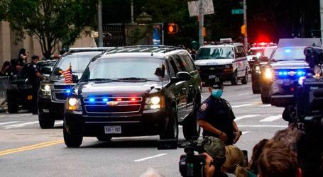 Ο Τραμπ φορώντας μάσκα επισκέφθηκε τον σοβαρά άρρωστο αδελφό του στο νοσοκομείο