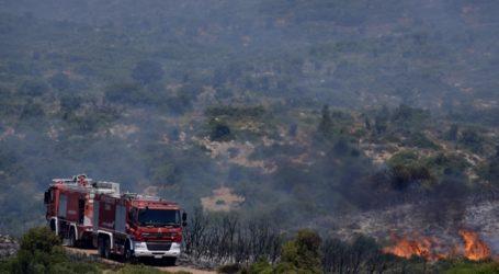 Πυρκαγιά στην περιοχή Άγιος Στέφανος Κέρκυρας