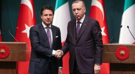 Συνομιλία Ερντογάν – Κόντε για την ανατολική Μεσόγειο