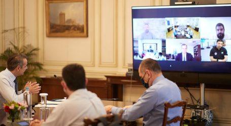 Σε εξέλιξη βρίσκεται η τακτική σύσκεψη για τον κορωνοϊό υπό τον πρωθυπουργό