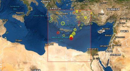 Σεισμική δόνηση 4,1 Ρίχτερ νότια της Κρήτης