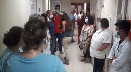 Οι εργαζόμενοι του Νοσοκομείου Σύρου δεν επιτρέπουν την απομάκρυνση του μοριακού αναλυτή
