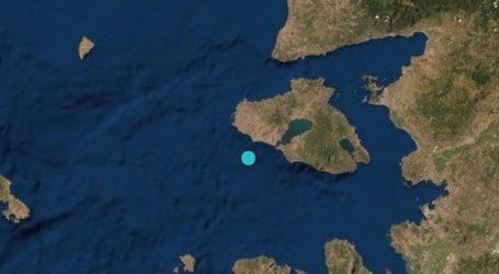 Σεισμός 3,1 Ρίχτερ στο Ανατολικό Αιγαίο