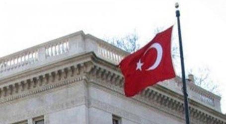 Άγνωστοι πέταξαν μπογιές στο κτίριο της τουρκικής πρεσβείας στην Αθήνα