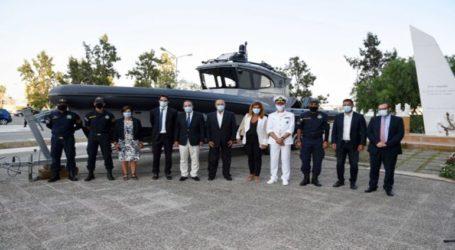 Tρίτο υπερσύγχρονο περιπολικό σκάφος στις δυνάμεις του Λιμενικού Σώματος