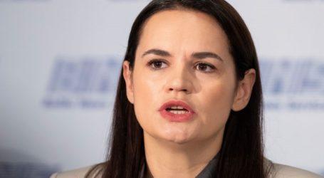 Ο λαός της Λευκορωσίας «δεν θα δεχθεί ποτέ την τρέχουσα ηγεσία», τόνισε η επικεφαλής της αντιπολίτευσης
