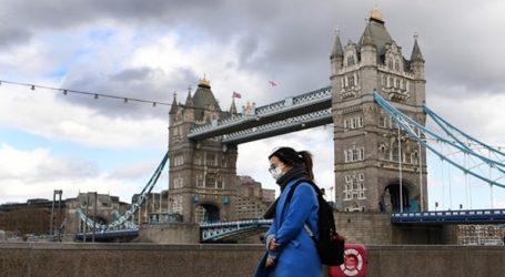 Η Βρετανία ανακοίνωσε 1.288 νέα κρούσματα κορωνοϊού
