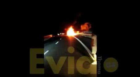 Στις φλόγες αυτοκίνητο στο Σχηματάρι