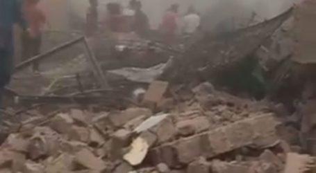 Κατέρρευσε κτήριο πέντε ορόφων στην Ινδία