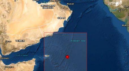 Σεισμός 5,2 Ρίχτερ νοτιοανατολικά του Ομάν